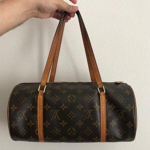 Louis Vuitton Monogram Papillon purse